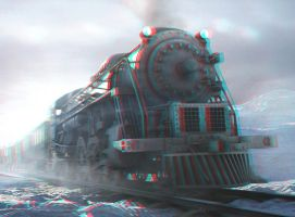 Arctic Express 3-D conversion by MVRamsey