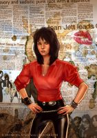 Joan Jett cover by bullsik