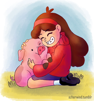 Mabel  waddles (03) by KanzenCM