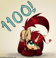 1100 Watchers by Vulpessentia