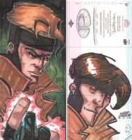 Marvel Premier 2014 Gambit by eugenecommodore