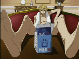 MILK Y U OBSTRUCT THE VIEW! *SHOT*