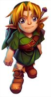 Young Link by jamespuga