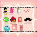 Iconos Sexys. By: Me~ by MeluuEditions