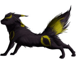 Umbreon by chicken-stalker