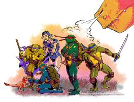Turtles in Time by HamsterMasterSamster