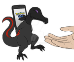 Commission - Salandit by ShrubbyNerb