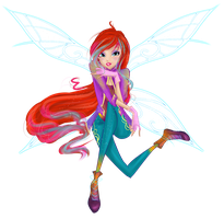 Bloom Dimentionix PNG by werunchick