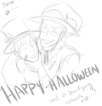 WIP: Jervis And Jonathan Halloween by Zombay-Senpai