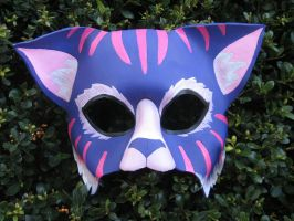 Cheshire Cat Mask by MummersCat