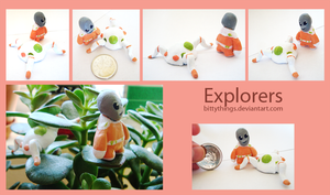 Explorers - Not available by Bittythings