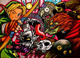 The Legend of Zelda by yuririn1219