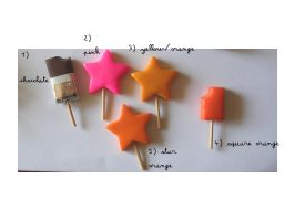 fimo star chocolate lollipop by yen-hm