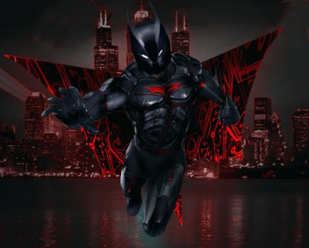 Batman Beyond Rl by Rene-L