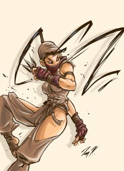 Ibuki Colored by Puzzletoad