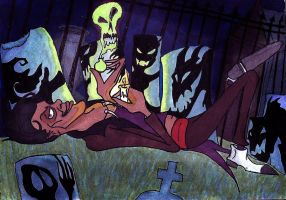 The Shadowman by MichellePrebich