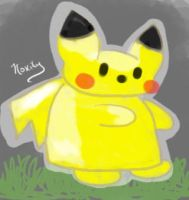 Pika Doodle by Lucora
