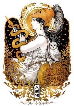 ATHENA by Medusa-Dollmaker