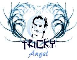 Tricky Angel T-shirt by scyllaya