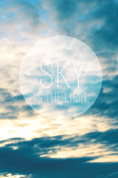 iPhone wallpaper - Sky is the limit by BigGenio