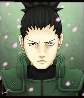 Portrait Series: Shikamaru by Lee-nus