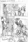 Nightwing8 p09 sample pencils by Jebriodo