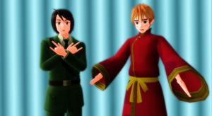 Hetalia MMD - Clothes Switch by YuMoriChii