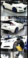 Honda CR-Z Spoon by DjN3oX