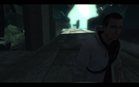 Playing in Assassin's Creed 3:Let's make a selfe by MrMixser
