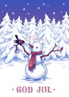 Holiday Card 2014 by bleuphoria