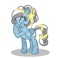 Crystal Silver Lining Vector by BootyWolf