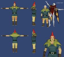 Skyward Sword: Groose Reference by ShrubbyNerb