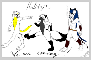 Holidays, we are coming ! by blackSpirit95