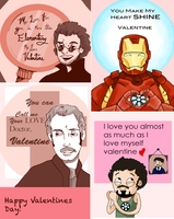 Valentines Day Cards by wolf-pirate55