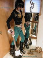 Bluegreen Jeans - and a Guitar by dude-girl