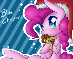 Blue Christmas by LittleCloudie