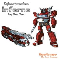 Cybertronian Inferno by TF-The-Lost-Seasons