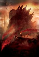 Godzilla [Hi-Res Textless Poster] by PhetVanBurton
