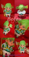 chibi Mint plush version by Momoiro-Botan
