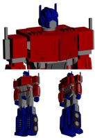 MDF Optimus Prime - 3D Preview by bapabst