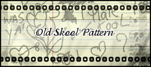 Old School Gimp Pattern by MissLittlewood