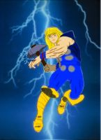 Thor The God Of Thunder by Sympathy2Devil