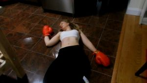 Marla's boxing ko by Game-Over-Girls