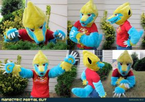 Manectric Partial Suit by LobitaWorks