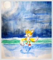 Watercolor Cute Tails by GaussianCat