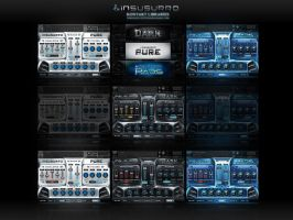 Insusurro Kontakt Library User Interfaces by s0nkite