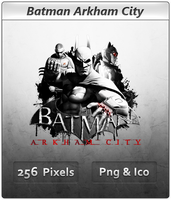 Batman Arkham City - Icon 3 by Crussong