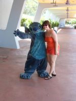 Meeting Stitch by punkette180