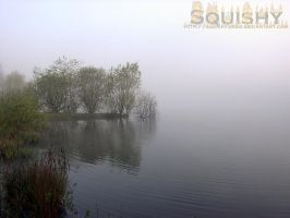 Morning Lake Mist by squishy2004