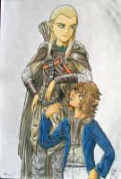 Old LotR colab is old by Naerko